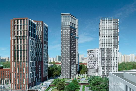 3-комн квартира, 79.5 м<sup>2</sup>, 22 этаж_1
