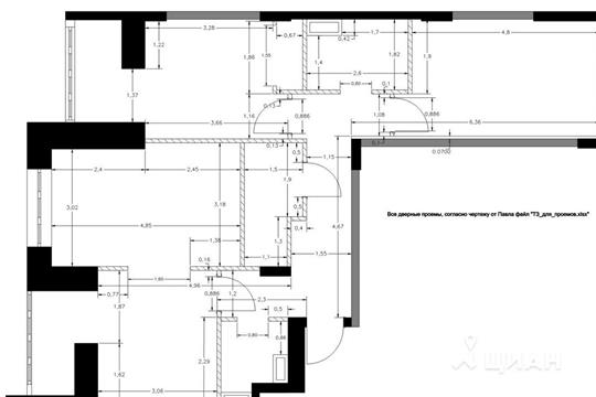 3-комнатная квартира, 79.9 м<sup>2</sup>, 4 этаж