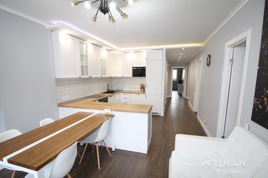 3-комнатная квартира, 89.4 м<sup>2</sup>, 4 этаж