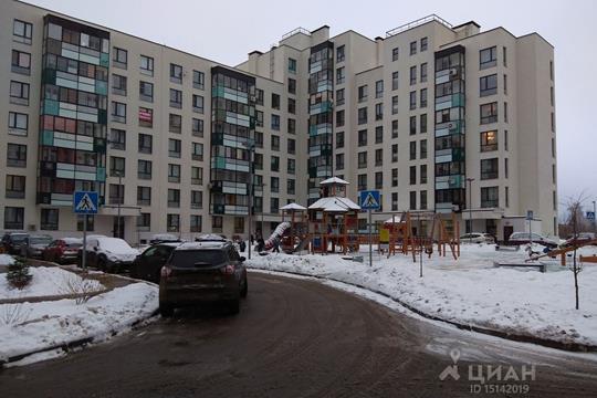 1-комнатная квартира, 38 м2, 7 этаж