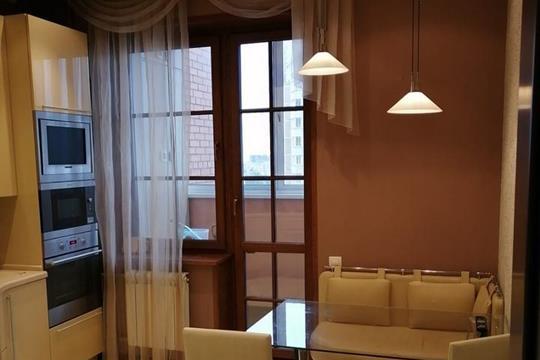 3-комнатная квартира, 96.1 м<sup>2</sup>, 15 этаж