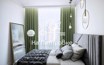 2-комнатная квартира, 54 м<sup>2</sup>, 5 этаж
