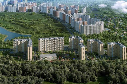 2-комнатная квартира, 63.2 м<sup>2</sup>, 11 этаж