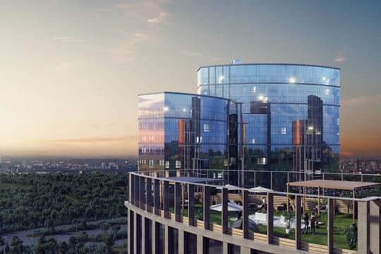 3-комнатная квартира, 100.77 м<sup>2</sup>, 27 этаж
