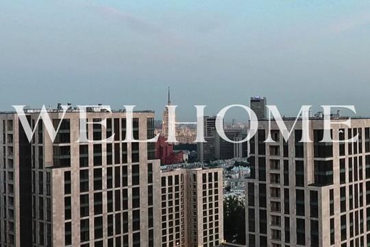 4-комнатная квартира, 141.6 м2, 14 этаж