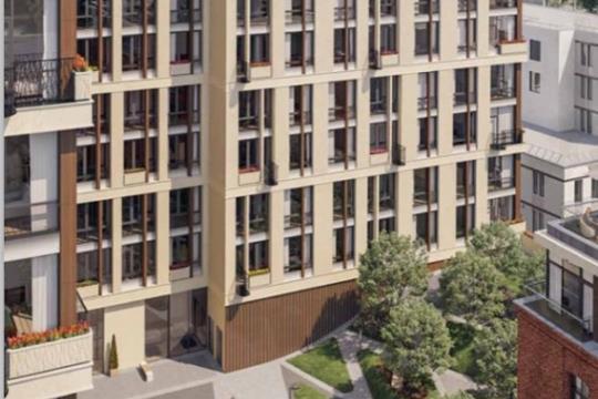 1-комнатная квартира, 61.4 м<sup>2</sup>, 2 этаж