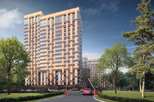 2-комнатная квартира, 64 м<sup>2</sup>, 16 этаж
