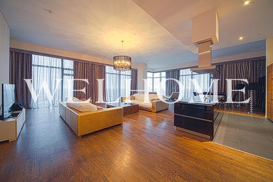 3-комнатная квартира, 195.8 м<sup>2</sup>, 58 этаж