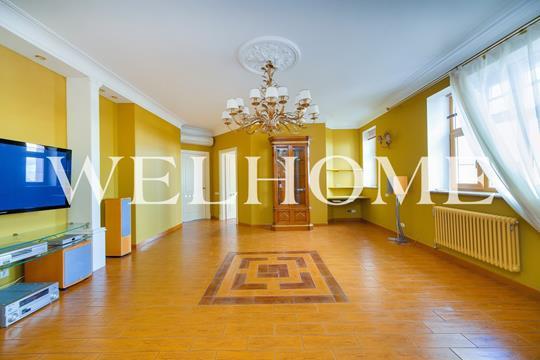 3-комнатная квартира, 136 м<sup>2</sup>, 31 этаж