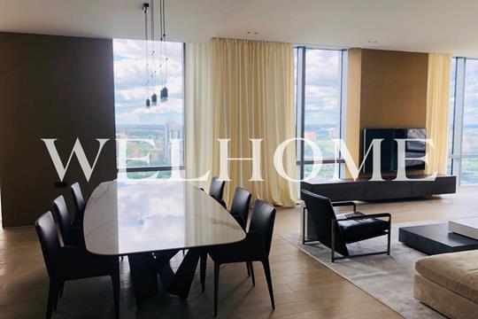 3-комнатная квартира, 160 м<sup>2</sup>, 47 этаж