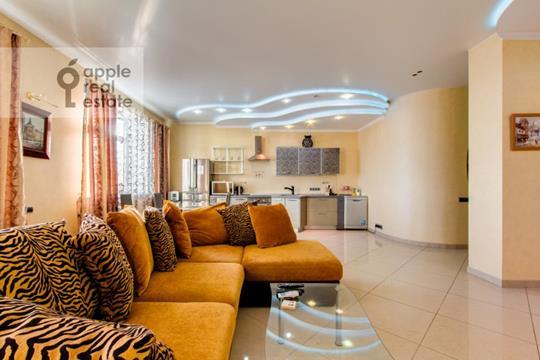 3-комнатная квартира, 130 м<sup>2</sup>, 27 этаж