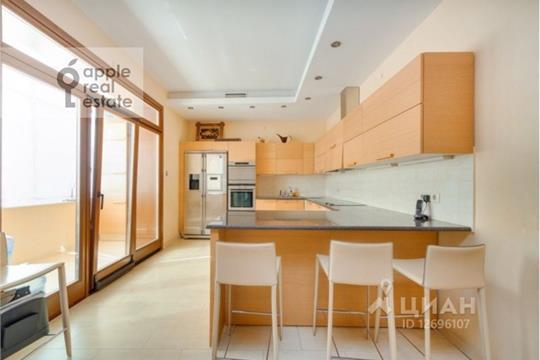4-комнатная квартира, 170 м<sup>2</sup>, 18 этаж