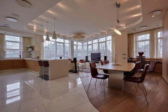 4-комнатная квартира, 201 м2, 5 этаж