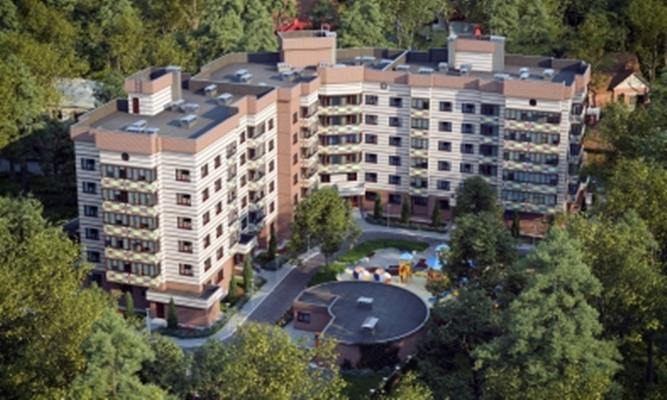 2-комн квартира, 66.42 м2, 4 этаж - фото 1
