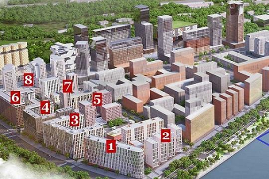 3-комнатная квартира, 116.48 м<sup>2</sup>, 12 этаж