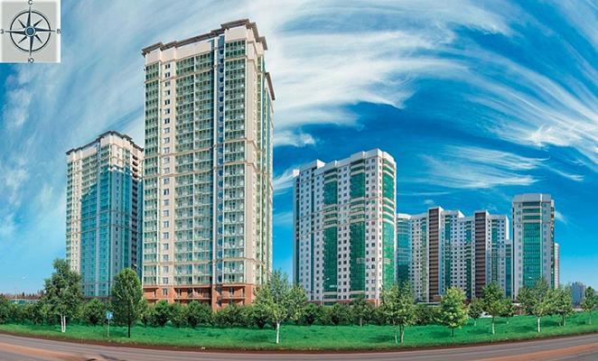 2-комн квартира, 77.9 м<sup>2</sup>, 24 этаж_1