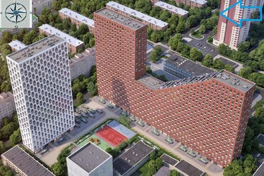 3-комнатная квартира, 82.3 м2, 15 этаж