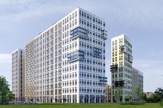 3-комнатная квартира, 83.53 м<sup>2</sup>, 8 этаж
