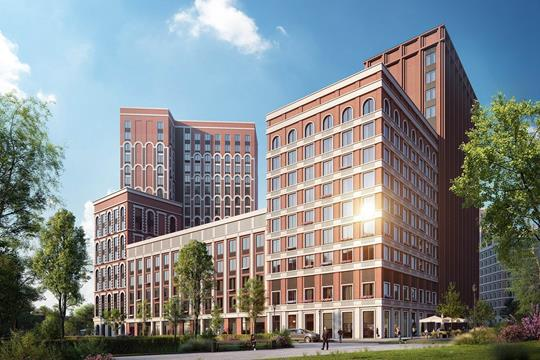 1-комнатная квартира, 45.41 м<sup>2</sup>, 17 этаж