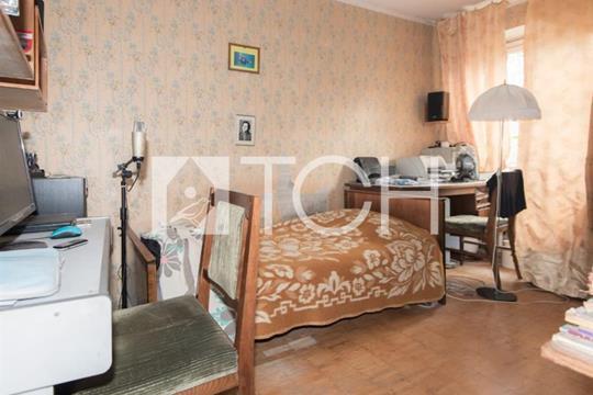 3-комнатная квартира, 53.7 м2, 3 этаж