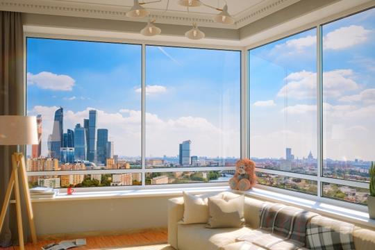 2-комнатная квартира, 73.2 м<sup>2</sup>, 33 этаж