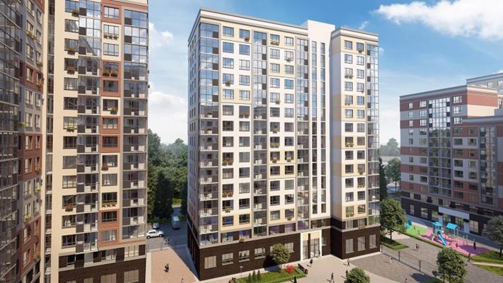 2-комн квартира, 62.7 м<sup>2</sup>, 9 этаж_1