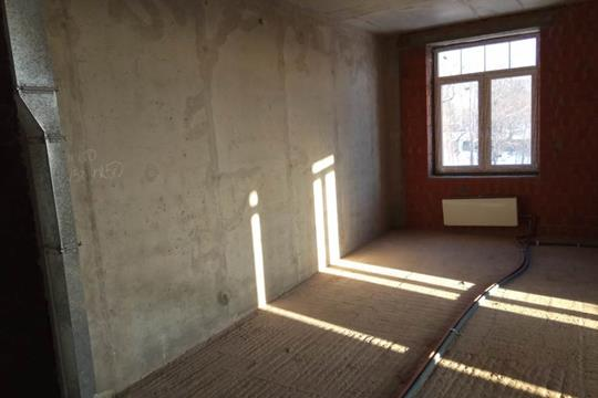 2-комн квартира, 56 м2, 3 этаж