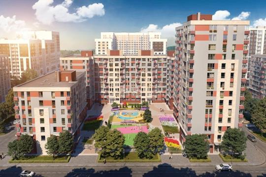 2-комн квартира, 71.4 м<sup>2</sup>, 14 этаж_1