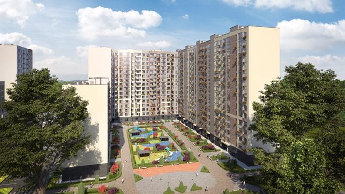 2-комн квартира, 63.3 м<sup>2</sup>, 9 этаж_1