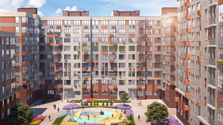 1-комн квартира, 42.3 м<sup>2</sup>, 4 этаж_1
