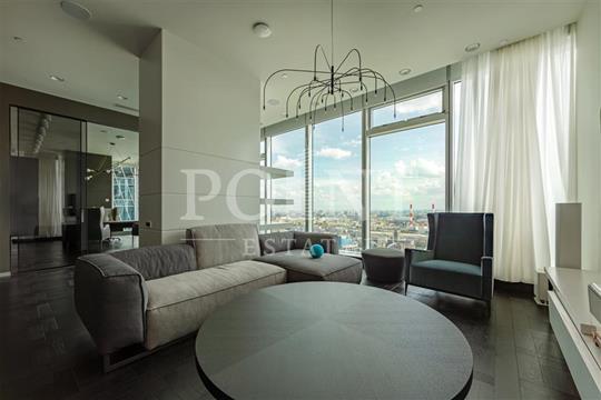 4-комн квартира, 175 м2, 40 этаж