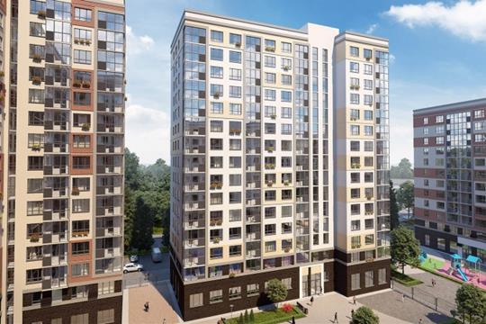 1-комнатная квартира, 40.9 м<sup>2</sup>, 8 этаж