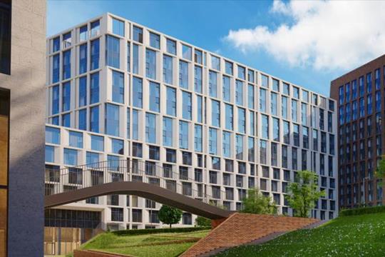 2-комнатная квартира, 101.1 м<sup>2</sup>, 8 этаж