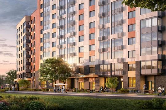 3-комнатная квартира, 57.05 м<sup>2</sup>, 2 этаж
