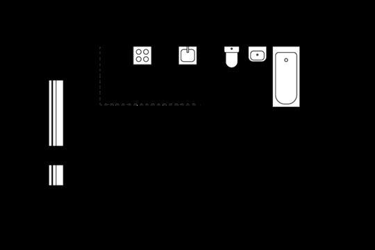 1-комнатная квартира, 27.55 м<sup>2</sup>, 9 этаж_1
