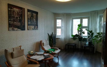 3-комнатная квартира, 76.7 м<sup>2</sup>, 12 этаж