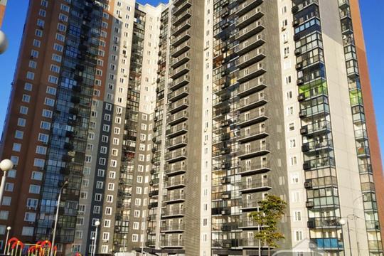 2-комнатная квартира, 58.4 м<sup>2</sup>, 23 этаж