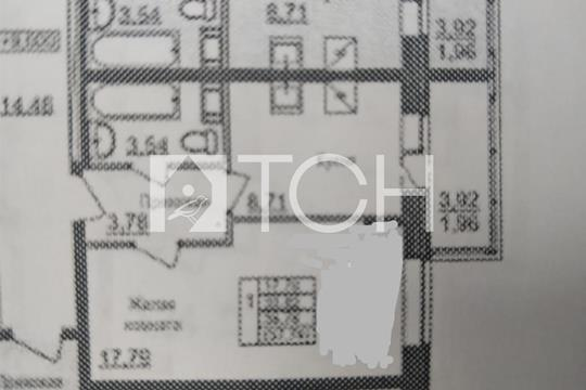 1-комнатная квартира, 35.7 м2, 4 этаж
