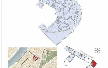 Многокомнатная квартира, 266.8 м<sup>2</sup>, 8 этаж