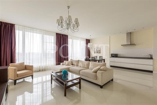 3-комнатная квартира, 130 м<sup>2</sup>, 12 этаж