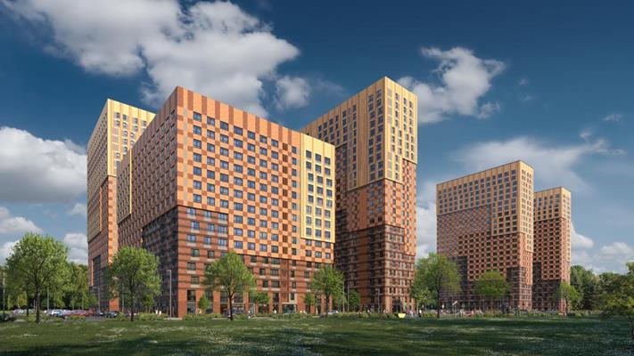 4-комн квартира, 133.4 м2, 22 этаж - фото 1