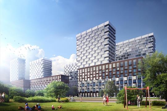 3-комнатная квартира, 109.8 м<sup>2</sup>, 24 этаж