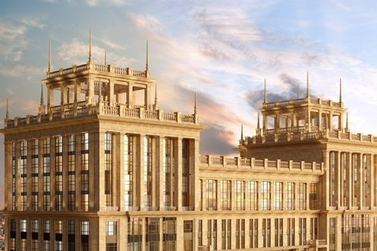 3-комнатная квартира, 128.2 м<sup>2</sup>, 13 этаж