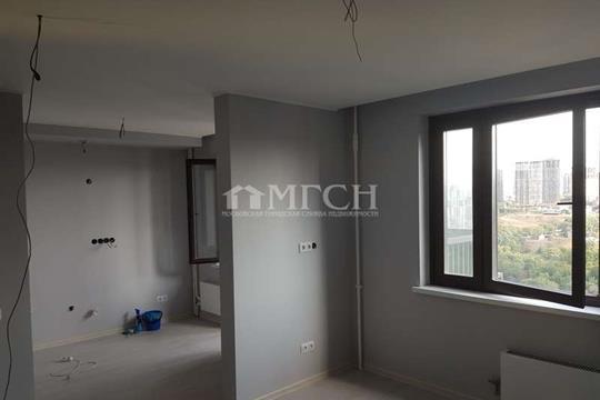 1-комнатная квартира, 32 м2, 19 этаж
