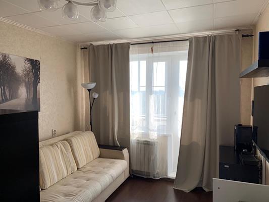 1-комн квартира, 33.7 м2, 10 этаж - фото 1