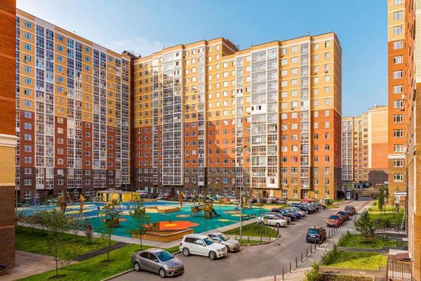3-комн квартира, 87.7 м2, 2 этаж - фото 1