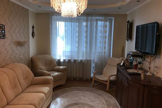 3-комнатная квартира, 72.1 м2, 9 этаж