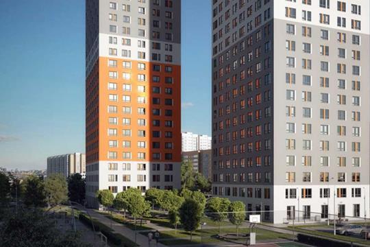 3-комнатная квартира, 82 м2, 20 этаж
