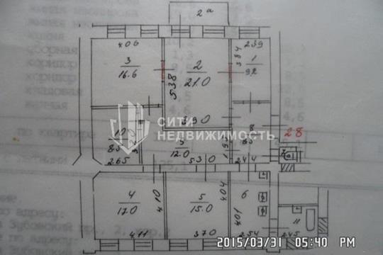 Комната в квартире, 127 м2, 2 этаж