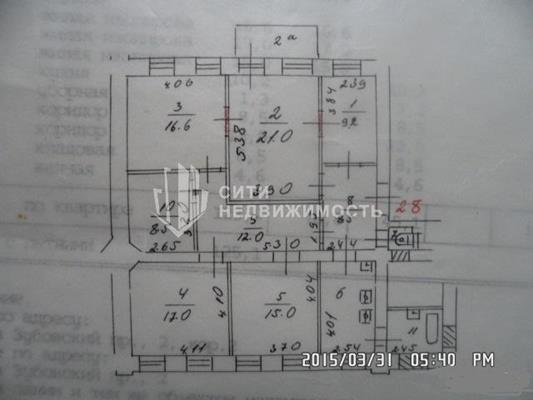 Комната в квартире, 127 м<sup>2</sup>, 2 этаж_1
